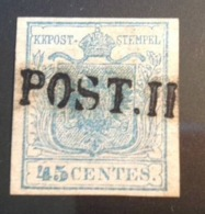 """Posta Militare """"F.POST III"""" ANCONA R2 = 7500€  (Lombardo Veneto 1850 Feldpost Österreich Stato Pontificio Italia - Lombardy-Venetia"""