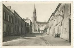 R : Vendée : LA  CHATAIGNERIE  : L'  Hotel  Du  Commerce  1950 - La Chataigneraie
