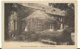R : Vienne :   Env.  De  CHATAIN  :  Château De   Coriger - Non Classés