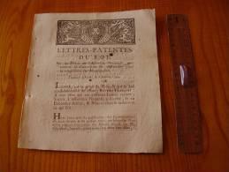 Louis XVI 1790 : Lettres Patentes Du Roi Convocation Des Assemblées Pour  Composition Des Municipalités . Gravure - Décrets & Lois