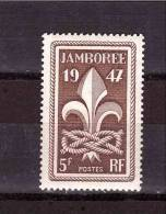 FRANCE 1947 Jamboree Miche Cat N° 786 Mint Never Hinged - Scouting