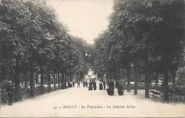 NANCY  - 54 -  La Pépinière - La Grande Allée  - BELLE ANIMATION  -  010513 - Nancy