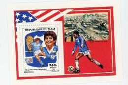 Mali-Madona-Coupe Du Monde De Football 1994-Feuillet Du Timbre***MNH - Coupe Du Monde