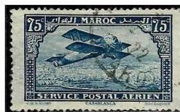 MAROC - Année 1922-27 - Y & T  N° PA4  Oblitéré Voir Descriptif Et Scan - Maroc (1891-1956)
