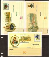 ROMANIA 1999 ROYAL FAMILY 5 MAXI CARD HORSE ONLY 25.000 MADE RARE - Cartoline Maximum