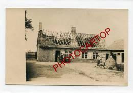 LEDEGEM-CURE-CARTE PHOTO Allemande-Guerre 14-18-1WK-BELGIQUE-BELGIE N-Flandern- - Ledegem