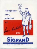 Buvard Sigrand Toujours Net Et Correct Et Bien Habillé - Non Classés