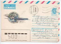 Ref TS : Enveloppe RUSSIE URSS Avion Aviation Cachet Postal - Altri