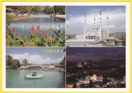 ANKARA. Carte écrite Et Circulée - Turchia