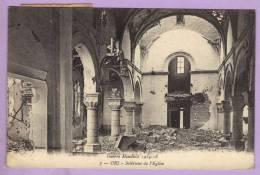 ORS - Intérieur De L'Eglise Guerre Mondiale 1914-18 - Carte Circulé 1926 - France