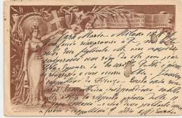 Per Le NOZZE Di S.A.R. Il Principe Di NAPOLI Con Elena Di MONTENEGRO+++ To Cerano, Novara, 1896 +++ - Otros