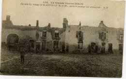 54 -BLAINVILLE- La Grande Guerre 1914.15-Un Coin Du Village,,,,,, - Unclassified