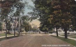 Maine Sanford Upper Main Street 1917