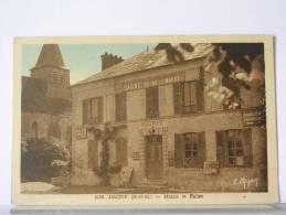 (77) - DAGNY - MAIRIE ET EGLISE - (TRES BEL ETAT) - France