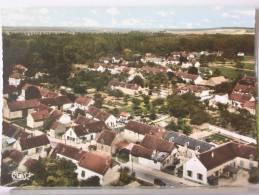 (77) - EVERLY - VUE AERIENNE - ROUTE DES ORMES - 1980 - Autres Communes