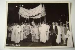 BARI     ORIGINALE   FOTO D'EPOCA  FICARELLI    18 X 13   PERSONAGGI   STESSA  PROCESSIONE  RELIGIONE - Luoghi