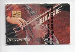 1 Télécarte BOSE 120 U NSB Neuve Sous Blister - Télécartes