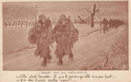 CPA H.Y. Fournier - Par 10° Au Dessous - Humoristiques