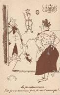 CPA R. Carrizey - Le Permissionnaire - Humour