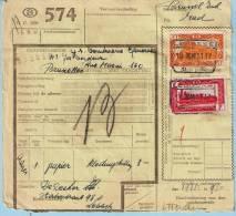 Spoorwegdoc, Afst. LEBBEKE 18/12/1951 (lijn Dendermonde - Brussel) - 1942-1951
