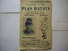 PLAN RATATA  CHANSONNETTE COMIQUE MILITAIRE CREE PAR DUFLEUVE - Documents
