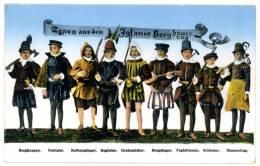 Iglau, Jihlava, Iglauer Berghäuerzug, Typen, Tracht, Costum,17.6.1942 - Tschechische Republik