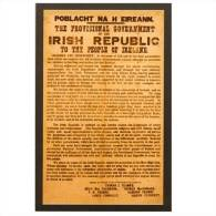 1916 Proclamation Postcard  Size:15x10 Cm. Aprox. - Irlanda