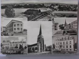 (77) - JOUARRE - MULTIVUES - 1962 - La Ferte Sous Jouarre
