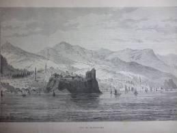 Arménie , Vue De Trébizonde , Gravure De 1895 - Documents Historiques