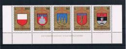 San Marino 1974 Wappen Mi.Nr. 1070/74 Kpl. Satz ** - Ungebraucht