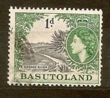 BASUTOLAND Basoutoland   Lesoto Africa  N. 47/US   -   1954 - Basutoland (1933-1966)