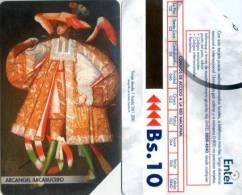 Telefonkarte Bolivien - Erzengel Arcabucero - Bolivien