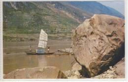 CHINA  Sailing Boat On The River 1984 - Formosa