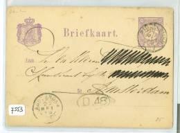 HANDGESCHREVEN BRIEFKAART Uit 1879 Van MIDDELBURG Naar AMSTERDAM * VOORDRUK NVPH Nr. 33  (7553) - Postal Stationery