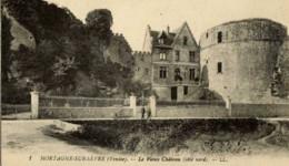 85- MORTAGNE-sur-SEVRE- Le Vieux Château (coté Nord) - Mortagne Sur Sevre