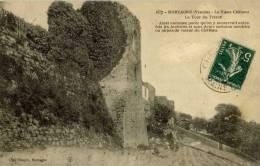 85- MORTAGNE-sur-SEVRE- Le Vieux Château -La Tour Du Trésor - Mortagne Sur Sevre