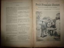 1896 Le Petit Français Illustré :  Les ROTHSHILD Savaient D´avance Le Désastre De Waterloo Grace Aux Pigeons-espions - Books, Magazines, Comics