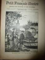 1896 Le Petit Français Illustré : PARIS-SEINE Et Beaux Poissons; Ingres ; Alfred De Musset Avait été Mendiant - Books, Magazines, Comics