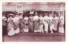 Postcard Country Fair USA Bar 1913 Our Dumb Friends League America Nostalgia - Events