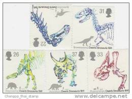 Great Britain 1991 Dinosaurs MNH - 1952-.... (Elizabeth II)