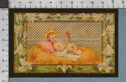 Xsb327 GESU BAMBINO Num. 409 Adesivo Riproduzione ALBUM DEI SANTINI - Religion & Esotérisme