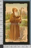 Xsb412 SAN FRANCESCO DI PAOLA Num. 250 Adesivo Riproduzione ALBUM DEI SANTINI - Religione & Esoterismo