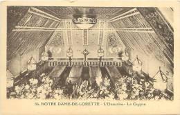 62 - NOTRE DAME-DE-LORETTE - L'Ossuaire - La Crypte (Ed. Fauchois, Béthune, 56) - France