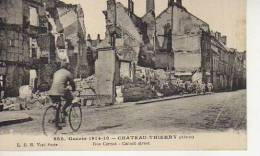 RUE CARNOT  CHATEAU - THIERRY AISNE I WORLD WARD   OHL - War 1914-18