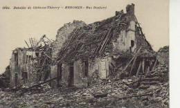 RUE DESBARD  ESSOMES   BATAILLE DE CHATEAU - THIERRY AISNE I WORLD WARD   OHL - War 1914-18