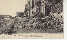 QUAI FAUSSE MARNE   BATAILLE DE CHATEAU - THIERRY AISNE I WORLD WARD   OHL - War 1914-18