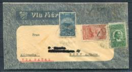 1930s ? Brazil Homemade Airmail Cover To Bonn Germany Via Natal - Luchtpost