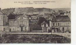 VUE SUR LE CHATEAU   BATAILLE DE CHATEAU - THIERRY AISNE I WORLD WARD   OHL - War 1914-18