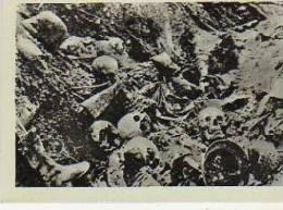 LE RAVIN DE LA MORT  UNE TRANCHEE  VERDUM   TAMAÑO 9.4 X 6.5 CM  I WORLD WORD   OHL - War 1914-18