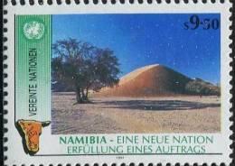 UN0211 UN Vienna 1990 Namibia Scenery Desert 1v MNH - Centre International De Vienne